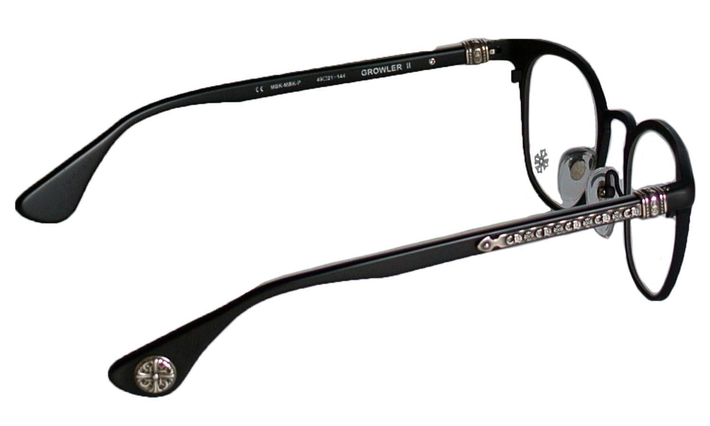 4930430d7731 CHROME HEARTS GROWLER II Matte Black-Matte Black-Plastic chrome Hertz eyewear  glasses