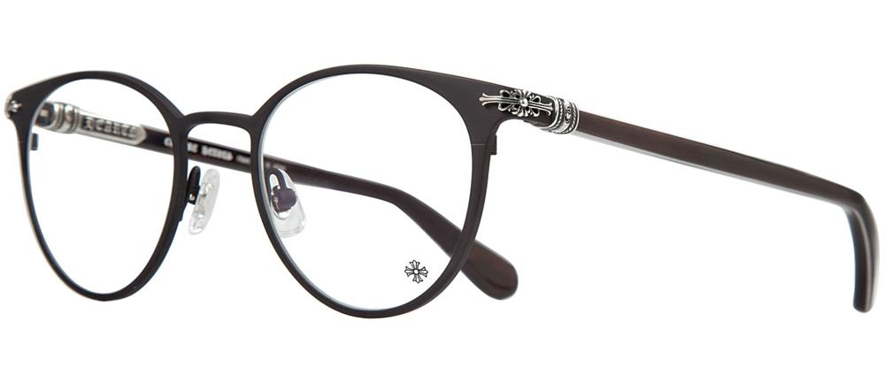 MORNING SHAKE chrome hearts eyewear Matte Black - Ebony Wood/Piano Varnish
