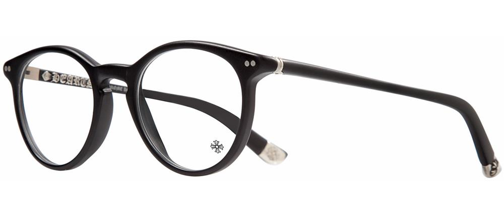RAGIN 木质约翰逊哑光黑铬心眼镜