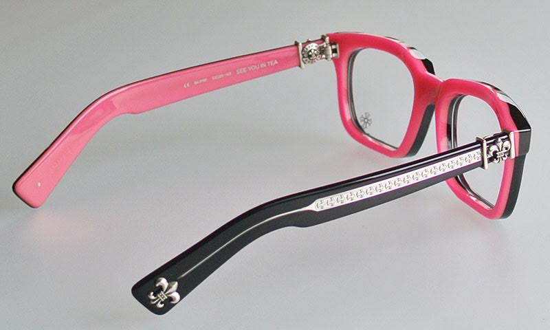 bdc2a2d0c9 SKYTREK  CHROME HEARTS SEE YOU IN TEA eyewear glasses Black Punk ...