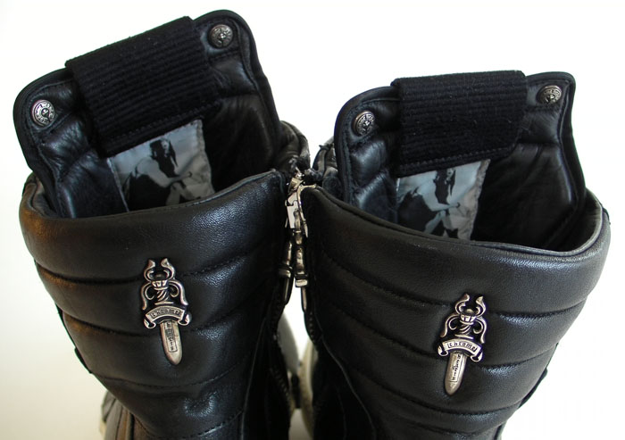 Chrome 瑞克 · 欧文斯 (RICK OWENS) 运动鞋黑色