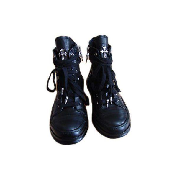 Chrome hearts RICK OWENS sneakers black