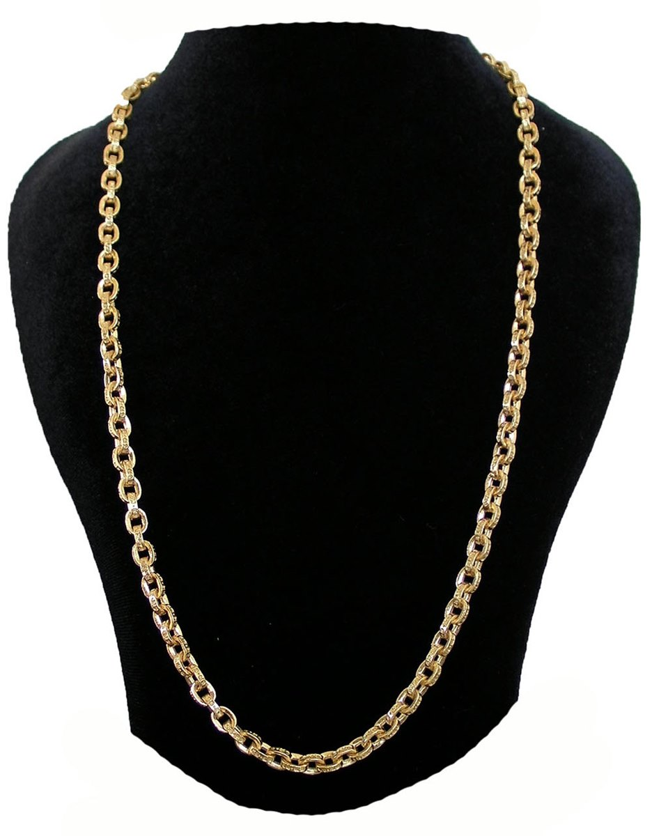 c66b2331a0c2 20 inches of CHROME HEARTS 22K PAPER CHAIN chrome Hertz 22K paper chain  necklaces