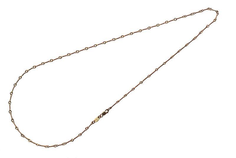 CHROME HEARTS TWIST CHAIN NECKLACE 22K GOLD クロムハーツ ネックレスチェーン 22Kゴールド ツイスト20インチ