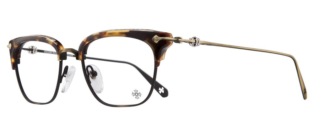 CHROME HEARTS SLUNTRADICTION (52) Tokyo Tortoise/Antique Gold クロムハーツ アイウェア