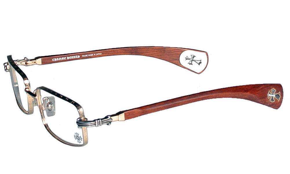 304c762aee1 SKYTREK  Chrome hearts sunglasses AXE (glasses) brown