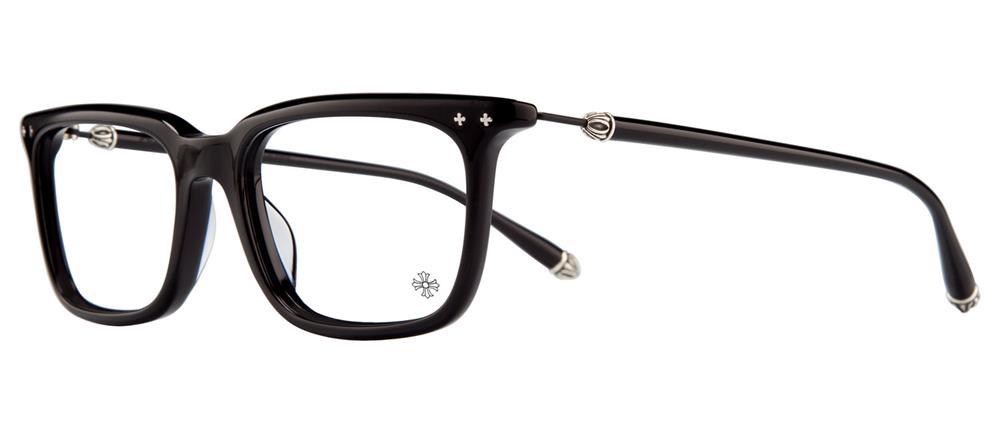 CHROME HEARTS BIG RICKY II-A BLACK 54-18-148 クロムハーツ アイウェア 眼鏡 2018 EYEWEAR