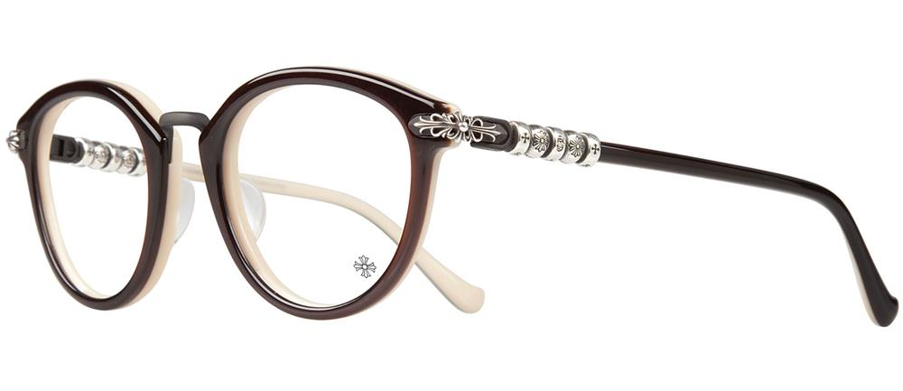 CHROME HEARTS CUNNING STUNT-A クロムハーツ アイウェア Black and Tan