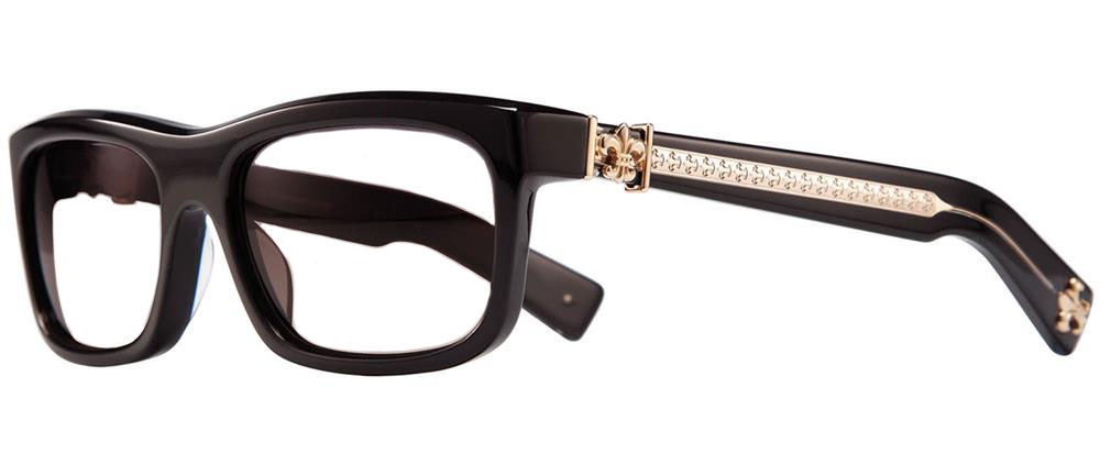 MYDIXADRYLL BLACK GOLD PLATED 55-18-135 クロムハーツ アイウェア 眼鏡