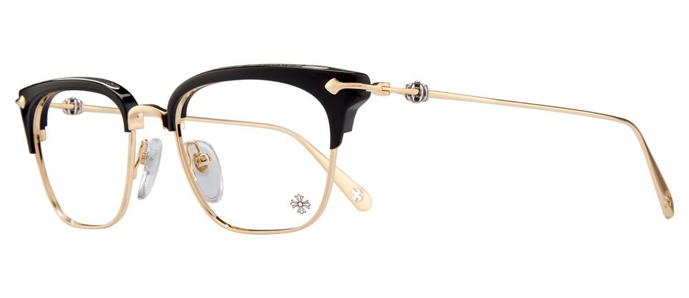 CHROME HEARTS SLUNTRADICTION (52) 52-19-148 Black/Gold Plated クロムハーツ アイウェア 2019 EYEWEAR