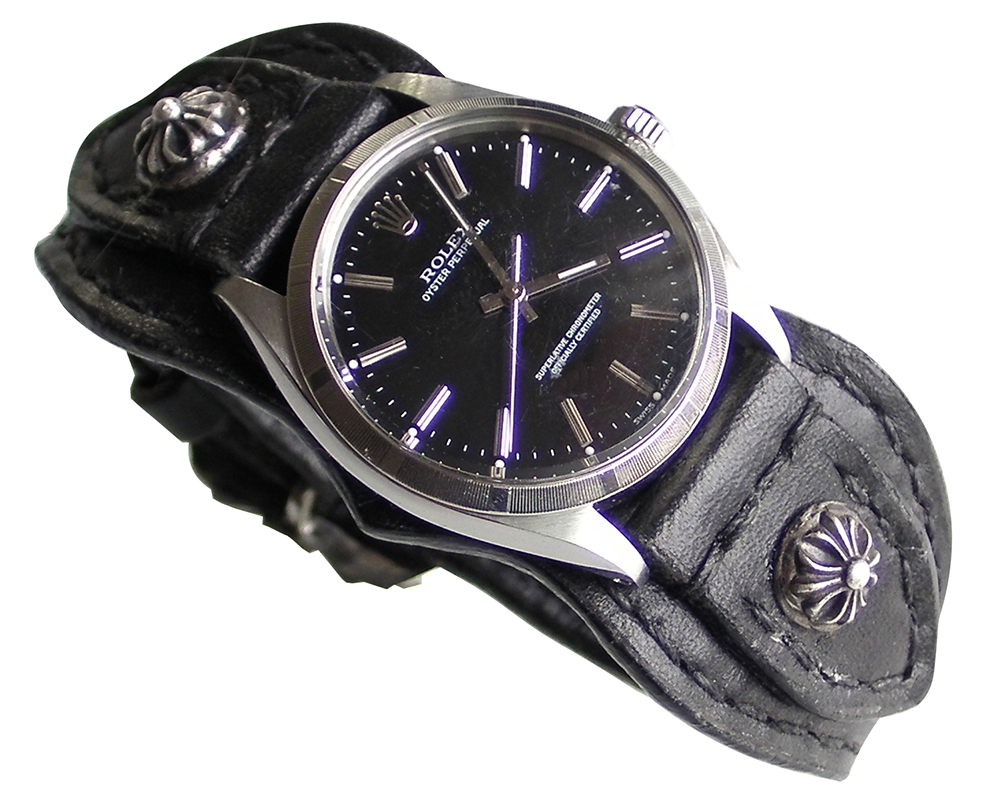 finest selection d2fb2 d7c5c 楽天市場】OYSTER PERPETUAL 1003 ROLEX WATCH / LEATHER/SILVER ...