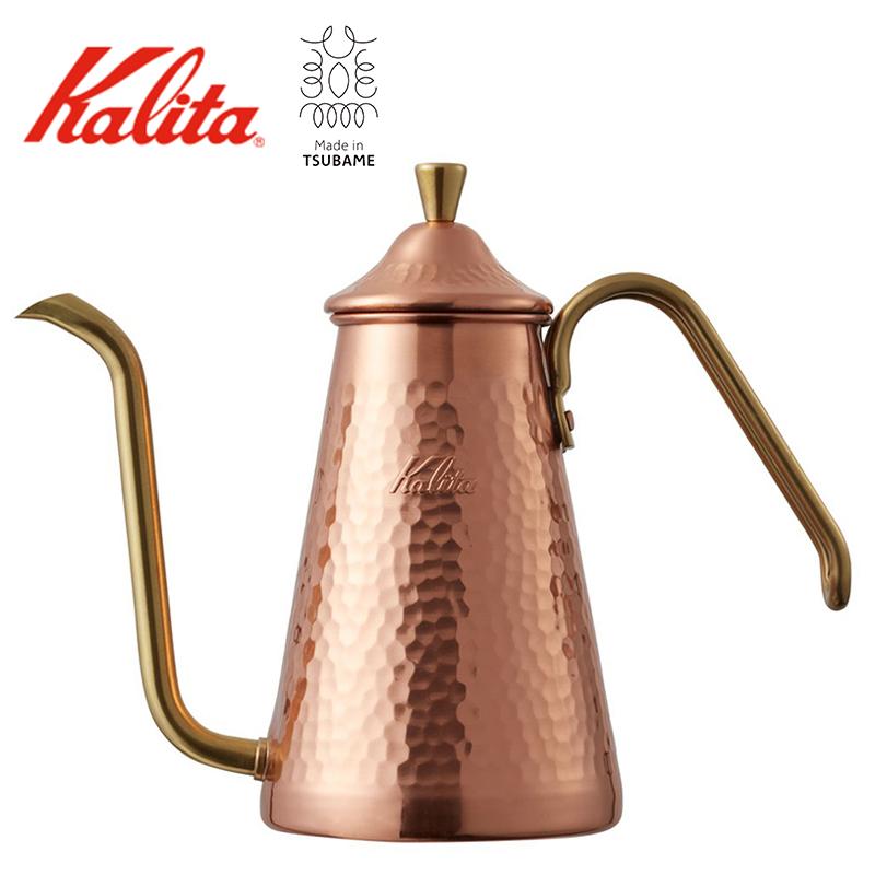 【送料無料】TSUBAME & kalita ドリップポット スリム 700CU 銅 コパー カリタ 燕 日本製 コーヒーポット