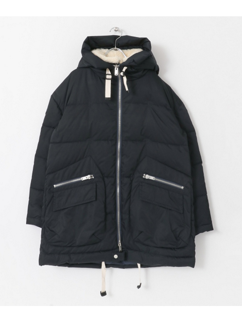 [Rakuten BRAND AVENUE]【SALE/30%OFF】NYUZELESS BIG HOODY LAYERD DOWN JACKET Sonny Label サニーレーベル コート/ジャケット【RBA_S】【RBA_E】【送料無料】