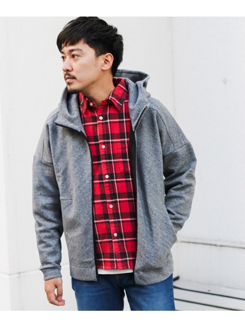 [Rakuten Fashion]SLABZipParka Sonny Label サニーレーベル カットソー パーカー グレー【送料無料】