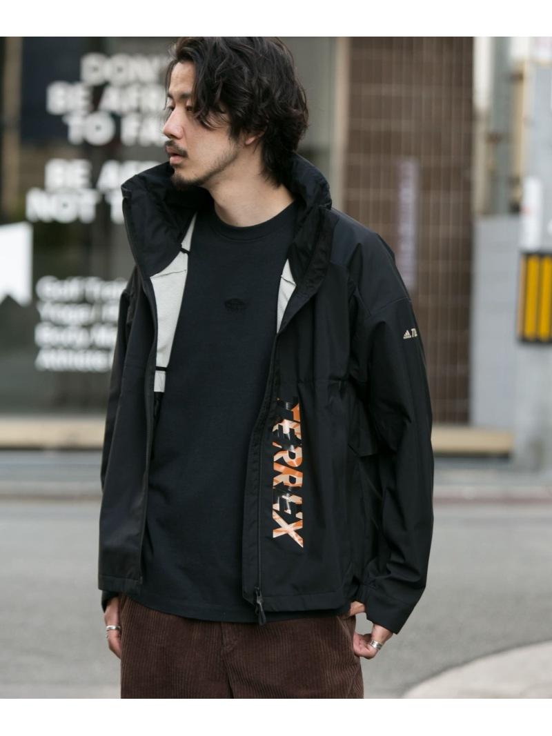 ナイロンジャケット Fashion]adidas ブラック【送料無料】 コート/ジャケット Sonny JACKET [Rakuten Label サニーレーベル MYSHELTER TERREX