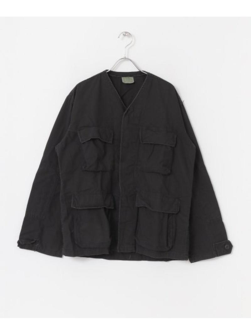 [Rakuten Fashion]ROTHCOBDUSHIRTSV-NECK Sonny Label サニーレーベル コート/ジャケット ノーカラージャケット ブラック カーキ【送料無料】