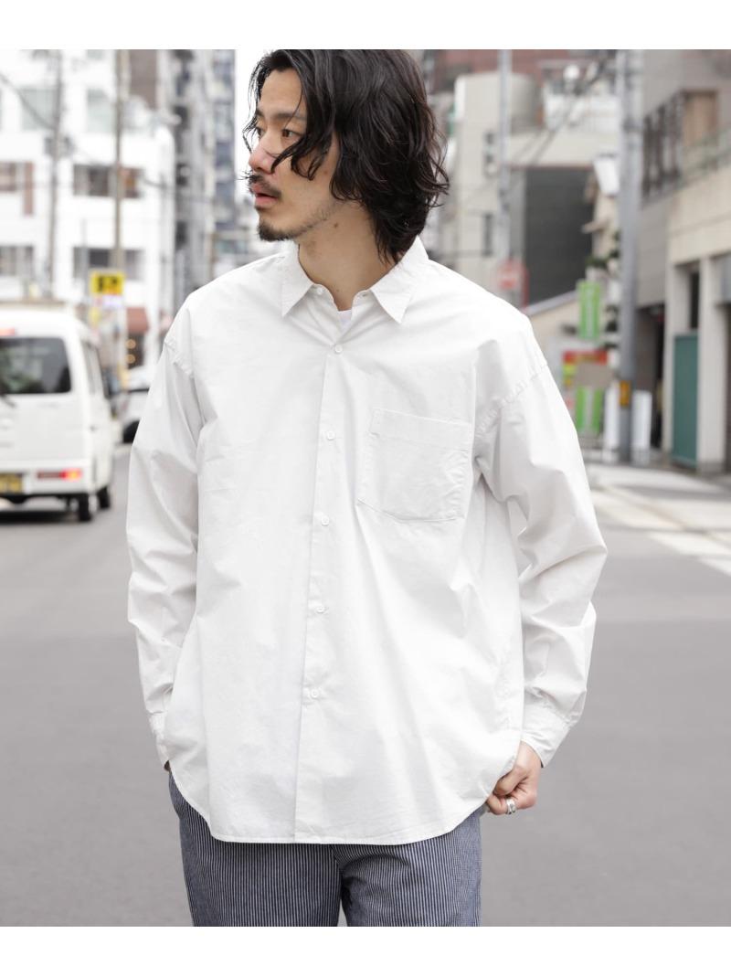 Sonny Label メンズ シャツ ブラウス サニーレーベル SALE 60%OFF カーキ 高級 Fashion ブルー RBA_E Rakuten ホワイト 超特価SALE開催 ブラウスその他 ガーメントダイタイプライターシャツ