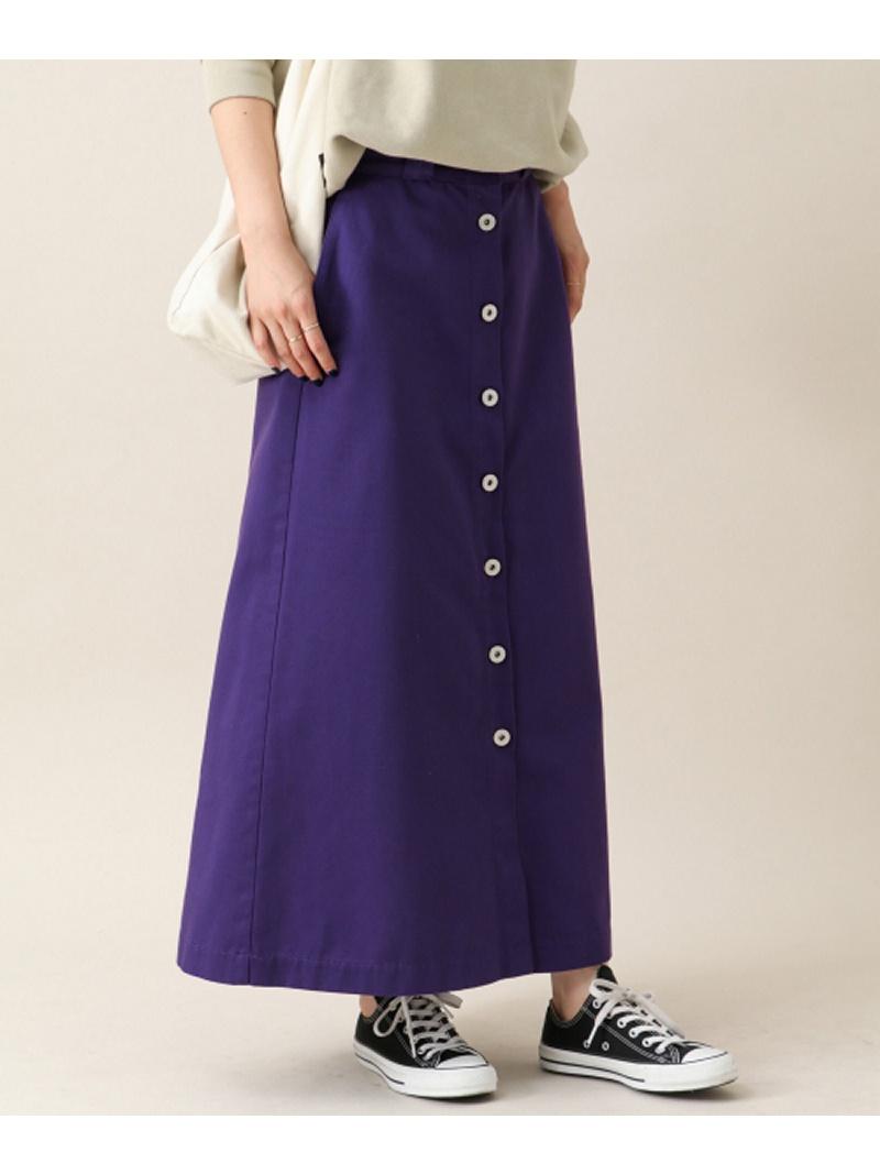 [Rakuten BRAND AVENUE]Dickies×Sonny label 別注フロントボタンスカート Sonny Label サニーレーベル スカート【送料無料】