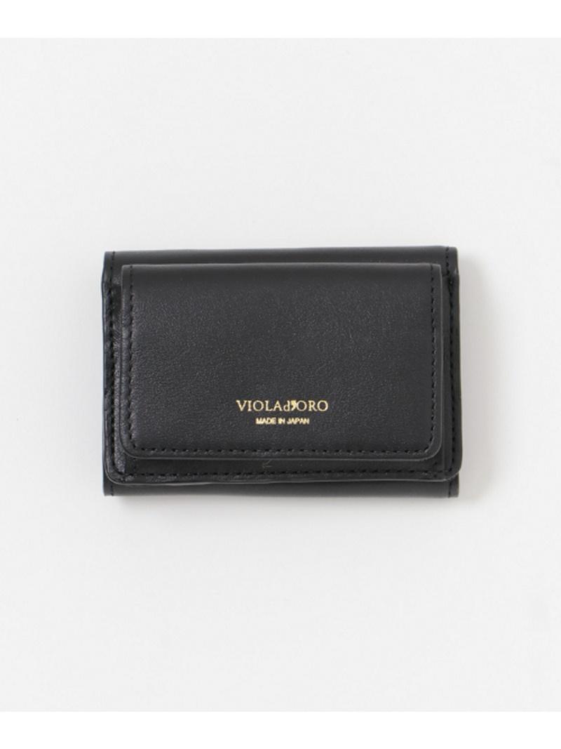[Rakuten Fashion]VIOLAd'ORO三つ折りSSサイズウォレット Sonny Label サニーレーベル 財布/小物 財布 ブラック ブルー レッド【送料無料】