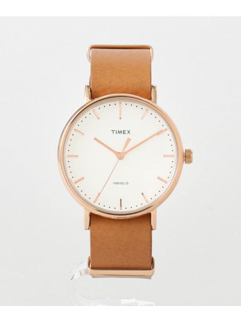 [Rakuten Fashion]TIMEXWeekenderFairfield Sonny Label サニーレーベル ファッショングッズ 腕時計 ブラウン ブラック【送料無料】