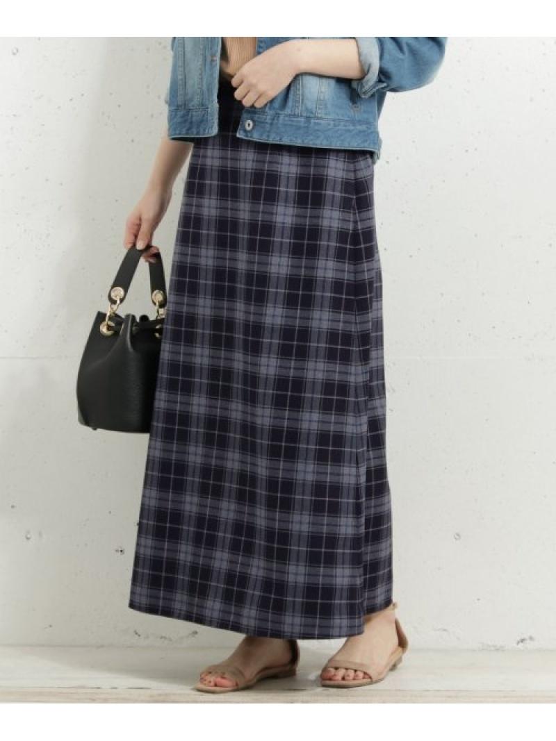 新作 人気 Sonny Label レディース スカート サニーレーベル Rakuten Fashion SALE ネイビー RBA_E スカートその他 60%OFF WEB限定 ベージュ 流行 チェックロングスカート