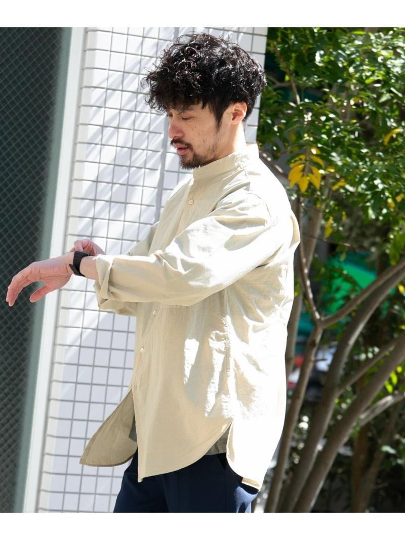 [Rakuten Fashion]TROOISPDEOBANDCOLLARSHIRTS Sonny Label サニーレーベル シャツ/ブラウス シャツ/ブラウスその他 ベージュ【送料無料】