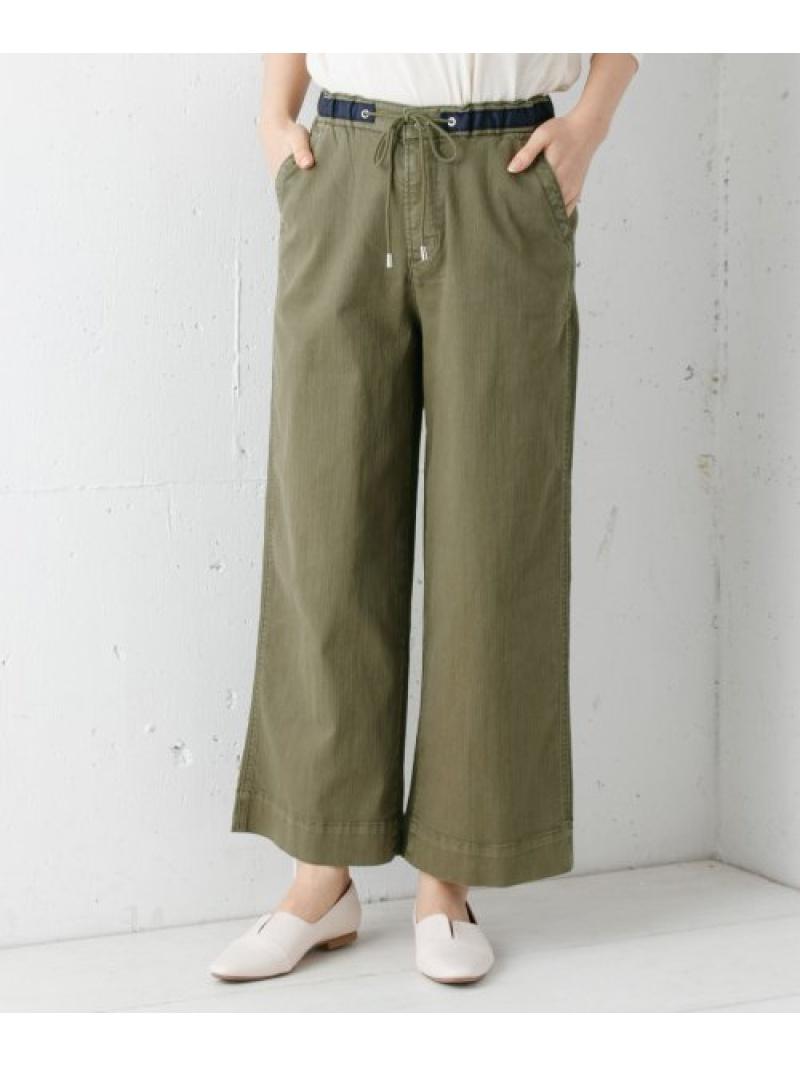 [Rakuten Fashion]MonameEASYWIDE Sonny Label サニーレーベル パンツ/ジーンズ パンツその他 カーキ ホワイト【送料無料】
