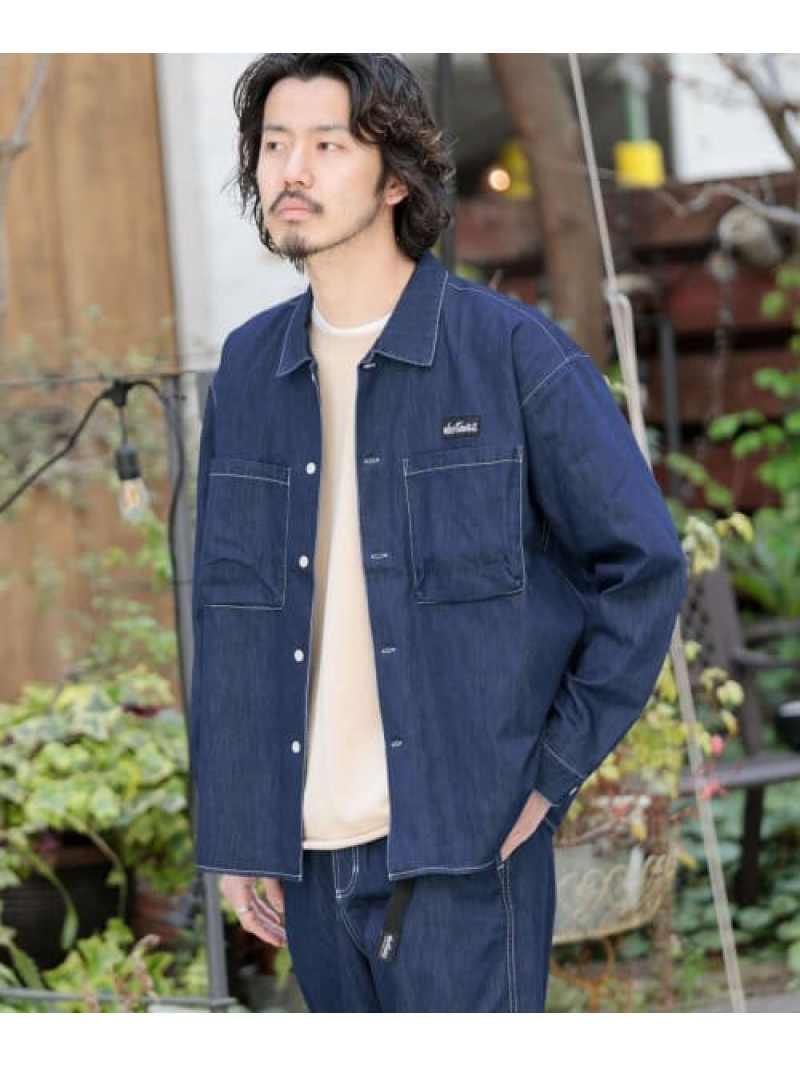 [Rakuten Fashion]WILDTHINGS別注SHELTECHBOXSHIRTS Sonny Label サニーレーベル シャツ/ブラウス シャツ/ブラウスその他 ホワイト【送料無料】