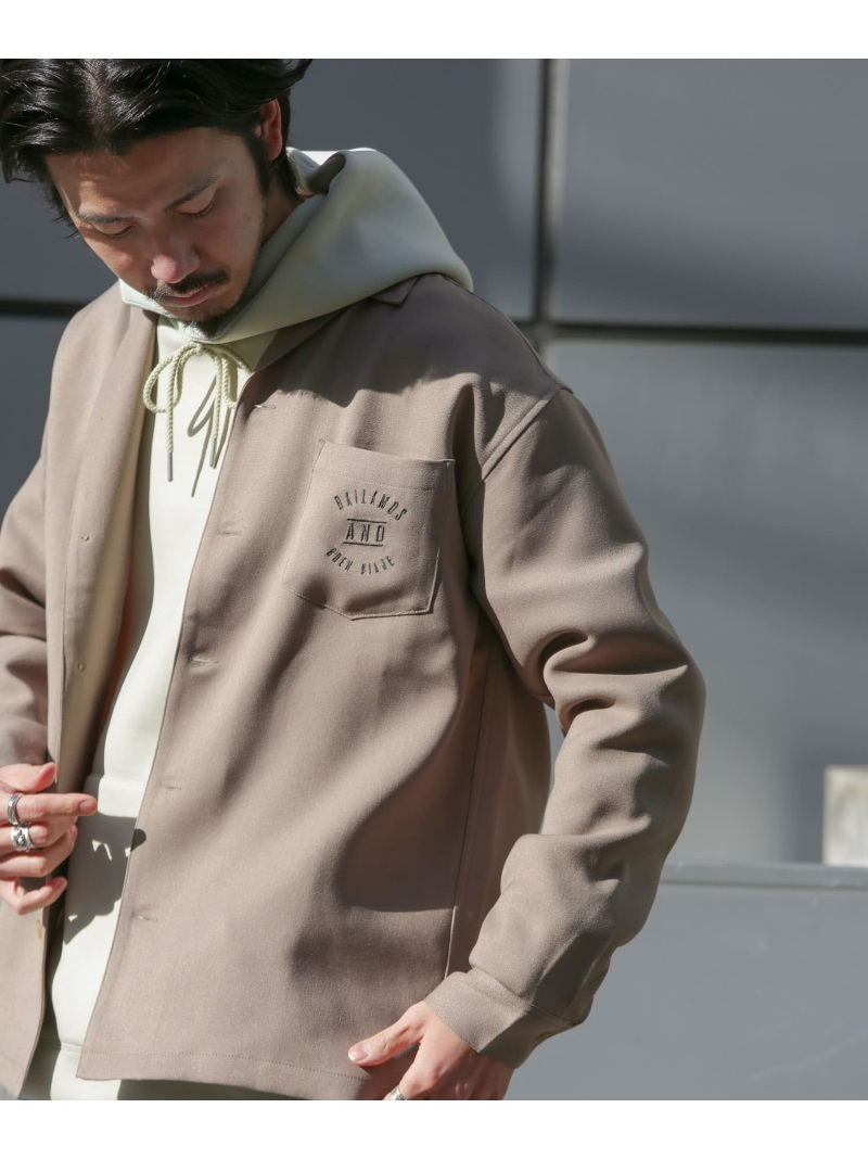 Sonny Label メンズ シャツ ブラウス サニーレーベル SALE 60%OFF 新作続 人気 L.A.モチーフ刺繍シャツ ブラウスその他 カーキ ホワイト Rakuten Fashion RBA_E ベージュ パープル