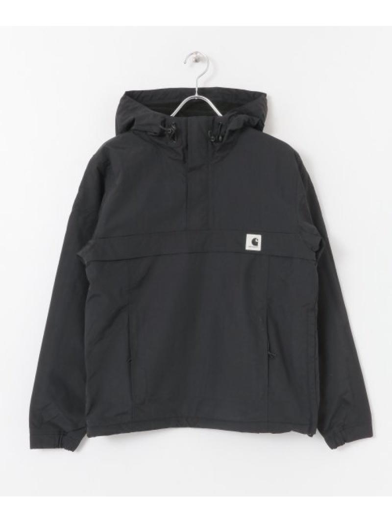 [Rakuten Fashion]CARHARTTWNIMBUSPULLOVER Sonny Label サニーレーベル コート/ジャケット ナイロンジャケット ブラック【送料無料】