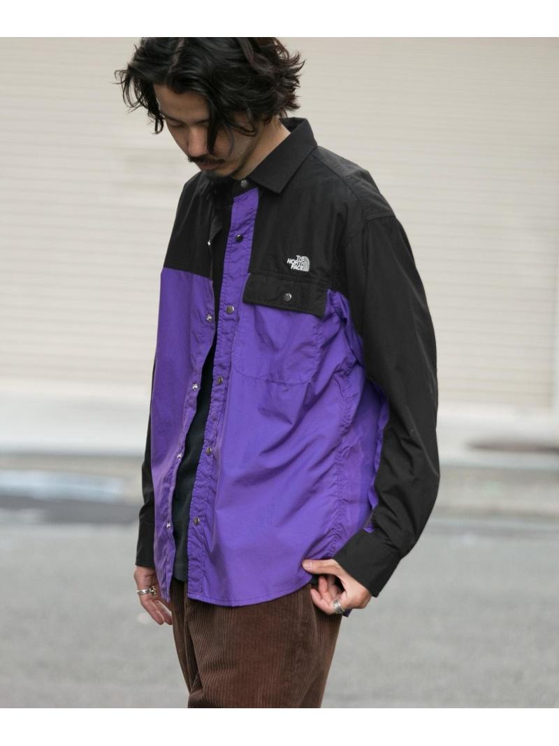サニーレーベル FACE シャツ/ブラウス Shirts Long-Sleeve シャツ/ブラウスその他 Fashion]THE Sonny ブラック【送料無料】 Nuptse NORTH Label [Rakuten