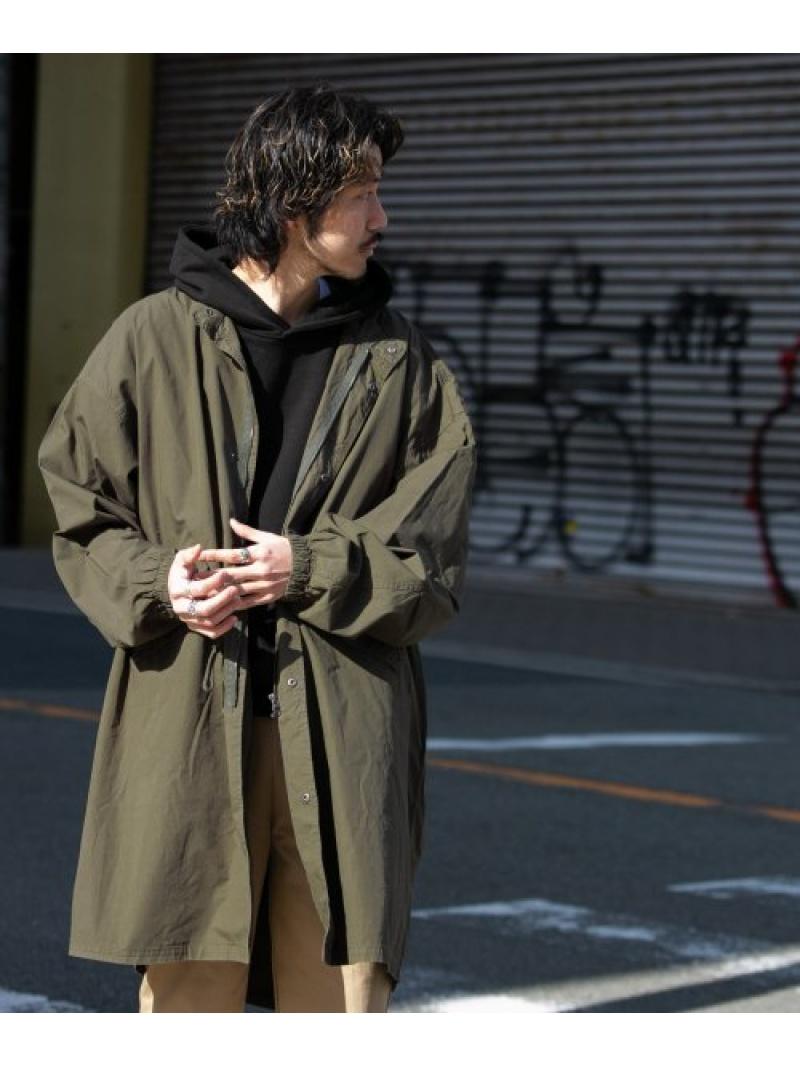 [Rakuten Fashion]【SALE/30%OFF】スタンドカラーロングモッズコート Sonny Label サニーレーベル コート/ジャケット モッズコート カーキ ホワイト【RBA_E】【送料無料】