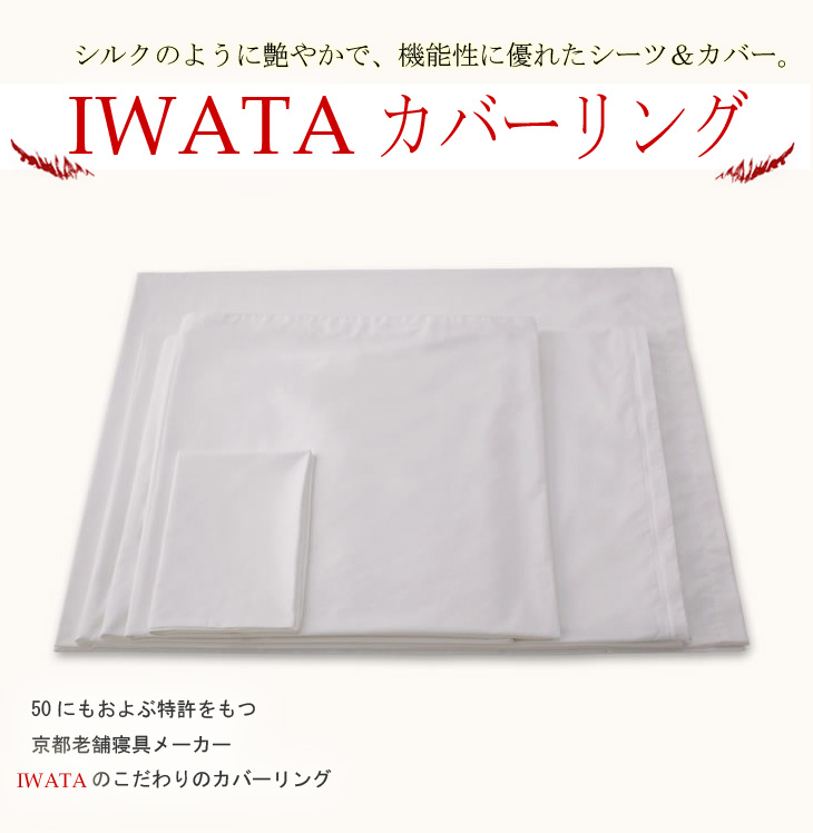 Iwata luxury Egypt 100% cotton seat covers Iwata quilt cover single long size (E-FC-00380)