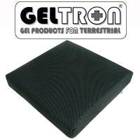 ジェルトロン クッション ダブルタイプ ハード 38×38×6.5cm【送料無料】(TAISコード)