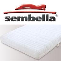 センベラ ニューナチュラスター マットレス セミダブル 幅120×195×16cm【送料無料】sembella