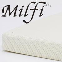 ビラベック ミルフィ100 ラテックス マットレス 厚さ10cm セミダブル 120×195×10cm【送料無料】milfy