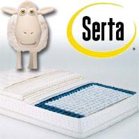 正規品 SERTA(サータ) ポスチャーパーフェクトスリーパー(片面ピローソフトタイプ)クィーン1 幅150×長さ196×厚さ34cm【送料無料 SERTA(サータ)】, カモグン:0349c48a --- novoinst.ro