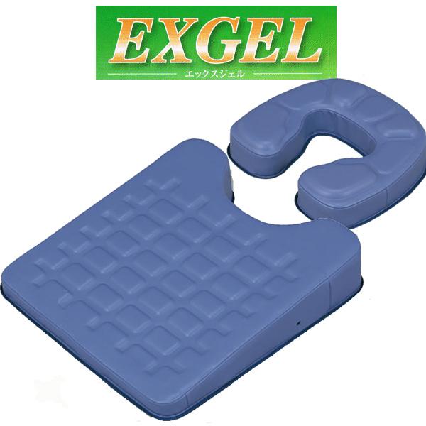 EXGEL エックスジェル EXバストセット(EXフェイスマット+EXバストマット)KT-816【送料無料】 エクスジェル EXジェル(カナケン治療・施術用枕)