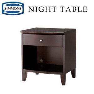 シモンズ ナイトテーブル KA1307 約幅45×奥行40×高さ50cm【送料無料】