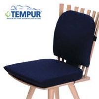 テンピュール シートクッション+ランバーサポートセット【送料無料】tempur/椅子/腰クッション/