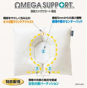 일본 중앙 낮은 베개/목에 좋은 베개를 선택으로, 어깨 결 림에도 추천 베개 「 라 막스 」 경 추 보호 베개 경 추 베개 숙면 베개 숙면 베개 도넛 베개 높이 조절 추 경 추 지원 fs2gm