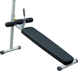 【送料無料】アジャスタブルアドミナルベンチ[impulse/インパルス][Slim Fit Gym スリムフィット] ジム スタジオ プロ 本格的 トレーニングマシン フィットネス