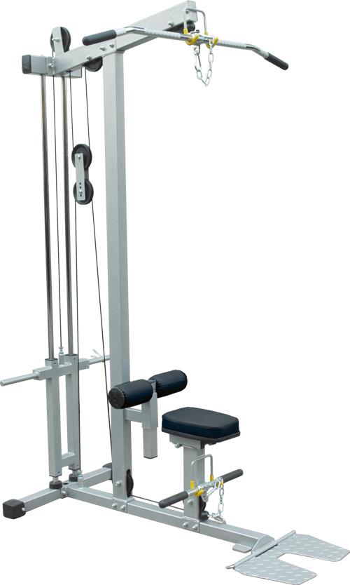 【送料無料】ラットマシン[impulse/インパルス][Slim Fit Gym スリムフィット] ジム スタジオ プロ 本格的 トレーニングマシン フィットネス