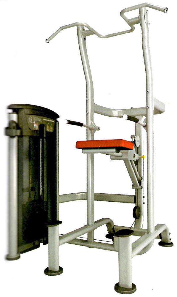 【送料無料】ウエイトアシステッドチンディップコンボ(235ポンド)《impulse/インパルス》ダンベル・トレーニングマシン・筋トレ・格闘技用品のワイルドフィット