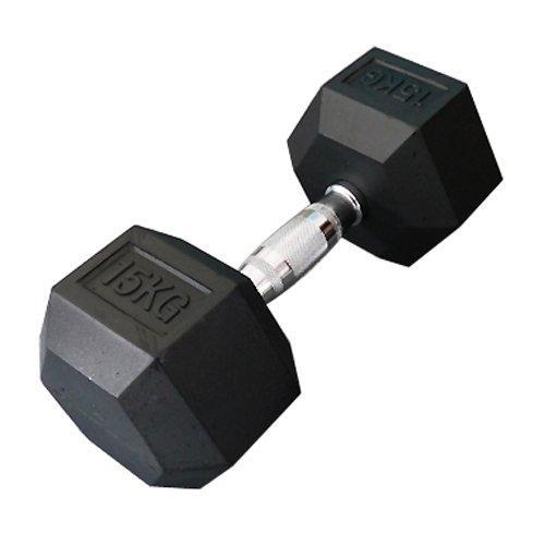 固定式六角ダンベル15kg[WILD FIT ワイルドフィット] 送料無料 ダンベル バーベル ウエイト 筋トレ トレーニング 腹筋 背筋 ベンチプレス ジム