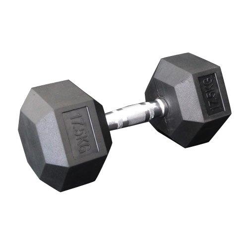 固定式六角ダンベル17.5kg[WILD FIT ワイルドフィット] 送料無料 ダンベル バーベル ウエイト 筋トレ トレーニング 腹筋 背筋 ベンチプレス ジム