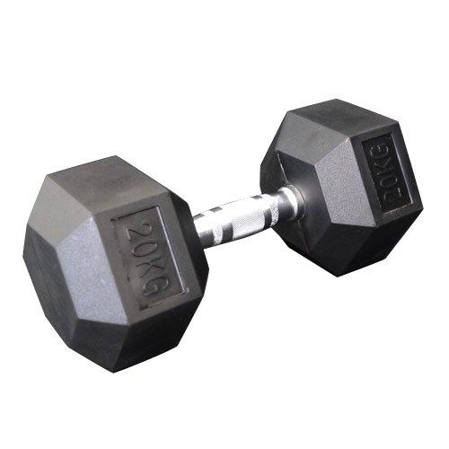 固定式六角ダンベル20kg[Slim Fit スリムフィット] 送料無料 ダンベル バーベル ウエイト 筋トレ トレーニング 腹筋 背筋 ベンチプレス ジム