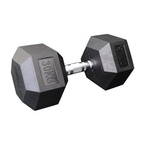 固定式六角ダンベル30kg[Slim Fit Gym スリムフィット] 送料無料 ダンベル バーベル ウエイト 筋トレ トレーニング 腹筋 背筋 ベンチプレス ジム