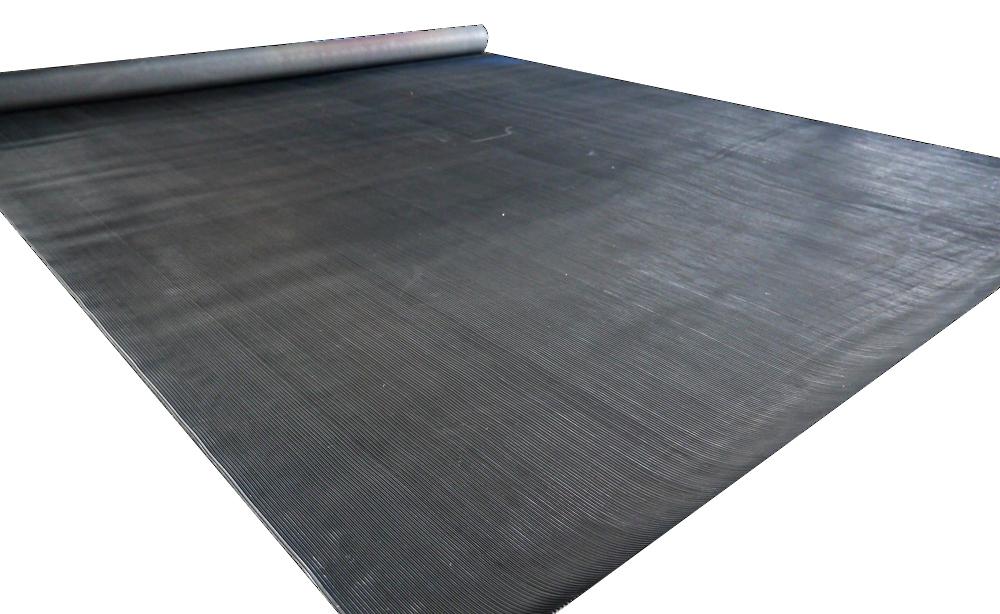 ラバーマット 黒  約2m×1.4m×3mm[Slim Fit Gym スリムフィット]送料無料 トレーニングマット フロアマット 筋トレ フィットネスマット ホームジム パワーラック ベンチプレス トレーニング器具 腹筋