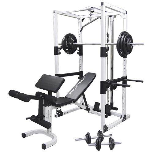 【ラックの選択可】パワーラックジムセット アイアン140[Slim Fit スリムフィット]送料無料 トレーニング ベンチ バーベル ダンベル 筋トレ 自宅